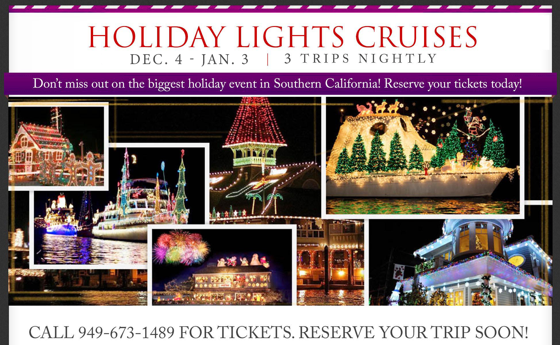 newport beach holiday cruises newport beach boat parade general admission cruises