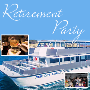 Rental Boat Retirement Party