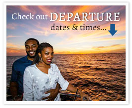 Check out our Departure Times for the Valentine's Cruises from Newport Landing