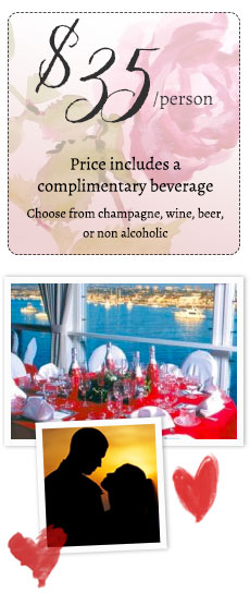 Spend your Valentine's weekend with Newport Landing on a romantic cruise!